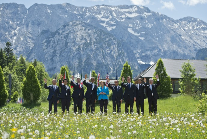 G7 at Bayern Schloss Elmau