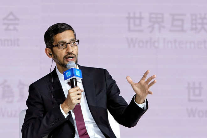 Google CEO at Wuzhen Summit